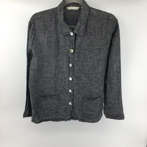 French Laundry Linen Button Down Shirt